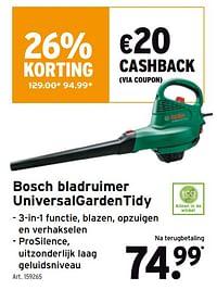 Bosch bladruimer universalgardentidy-Bosch