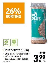Houtpellets-Huismerk - Gamma