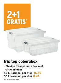 Iris top opbergbox-Iris