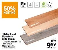 Kliklaminaat signature dikte-Huismerk - Gamma