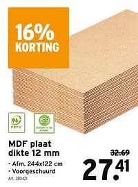Mdf plaat-Huismerk - Gamma