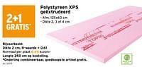 Polystyreen xps geëxtrudeerd-Huismerk - Gamma