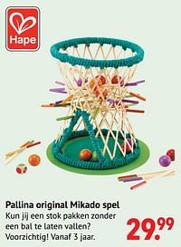 Pallina original mikado spel-Hape