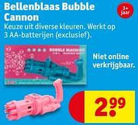 Bellenblaas bubble cannon-Huismerk - Kruidvat