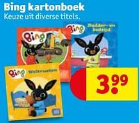 Bing kartonboek-Huismerk - Kruidvat