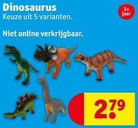 Dinosaurus-Huismerk - Kruidvat