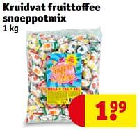 Kruidvat fruittoffee snoeppotmix-Huismerk - Kruidvat