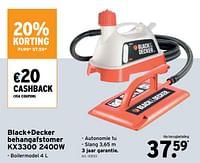 Black+decker behangafstomer kx3300-Black & Decker