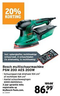 Bosch multischuurmachine psm 200 aes-Bosch