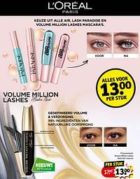 Volume million lashes balm noir mascara-L