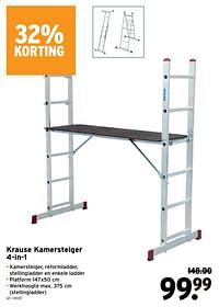 Krause kamersteiger 4-in-1-Krause