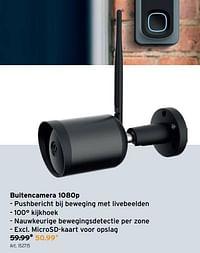 Qnect buitencamera 1080p-Qnect