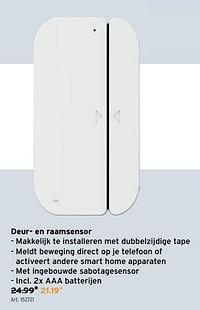Qnect deur- en raamsensor-Qnect