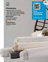 Vliesbehang-Huismerk - Gamma