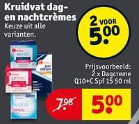 Dagcreme q10+c spf 15-Huismerk - Kruidvat