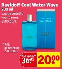Davidoff cool water wave edt-Davidoff