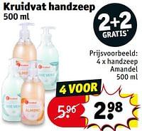 Handzeep amandel-Huismerk - Kruidvat