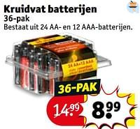 Kruidvat batterijen-Huismerk - Kruidvat