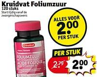 Kruidvat foliumzuur-Huismerk - Kruidvat