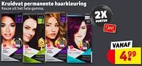 Kruidvat permanente haarkleuring-Huismerk - Kruidvat