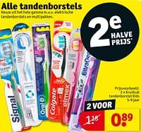 Kruidvat tandenborstel kids-Huismerk - Kruidvat