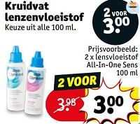 Lensvloeistof all-in-one sens-Huismerk - Kruidvat