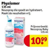 Neusspray baby-Physiomer