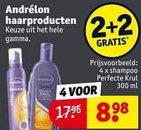 Shampoo perfecte krul-Andrelon