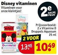 Vitamine d druppels aquosum-Disney