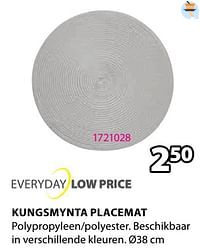 Kungsmynta placemat-Huismerk - Jysk