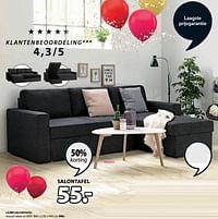 Lejre salontafel-Huismerk - Jysk