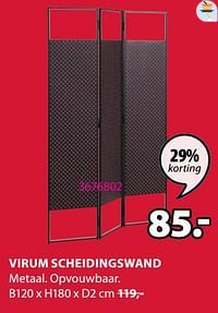 Virum scheidingswand-Huismerk - Jysk