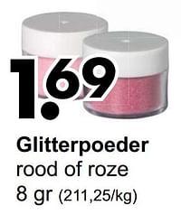 Glitterpoeder-Huismerk - Wibra