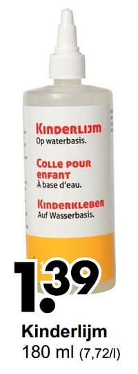 Kinderlijm-Huismerk - Wibra