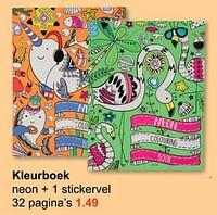 Kleurboek-Huismerk - Wibra
