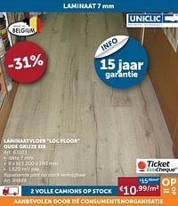 Laminaatvloer loc floor oude grijze eik-Huismerk - Zelfbouwmarkt