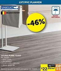 Lvt-pvc plank click-Uniclic