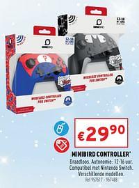 Minibird controller-Huismerk - Trafic