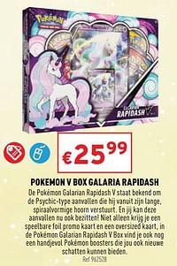 Pokemon v box galaria rapidash-Pokemon