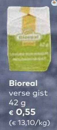 Bioreal verse gist-Huismerk - Bioplanet