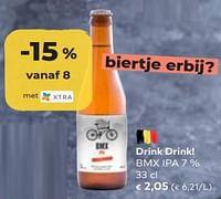 Drink drink! bmx ipa-Huismerk - Bioplanet