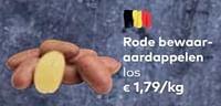 Rode bewaar- aardappelen-Huismerk - Bioplanet
