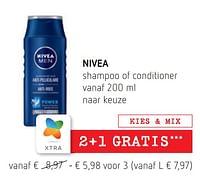 Nivea shampoo of conditioner-Nivea