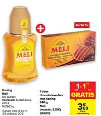 Honing meli acaciahoning-Meli