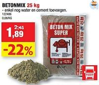 Betonmix-Coeck