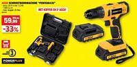 Powerplus accu schroefboormachine powx00435-Powerplus