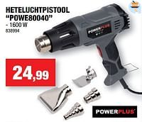 Powerplus heteluchtpistool powe80040-Powerplus