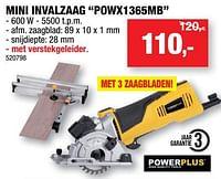 Powerplus mini invalzaag powx1365mb-Powerplus