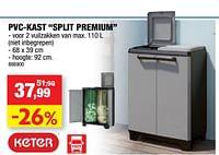 Pvc-kast split premium-Keter