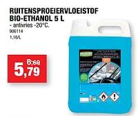 Ruitensproeiervloeistof bio-ethanol-Forever